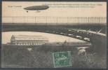 TOUL - Le Dirigeable Adjudant-Vincenot évoluant Au-dessus Du Nouveau Hangar à Ballon - Zeppeline