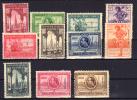 FERNANDO POO - EDIFIL Nº 168/178** - SELLOS DE ESPAÑA, EXPOSICIONES DE SEVILLA Y BARCELONA - AÑO 1929 - Spanish Guinea