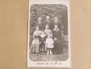 Photographie D'Une Famille Prise La 16 Septembre 1917 - Photographs