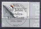 Bundespost 2008 Mi.2641 Hoekstuk Gestempeld - [7] West-Duitsland