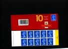 GREAT BRITAIN - 10 X 2nd  Class (Walsall)  PALE  BOOKLET MINT NH  HC 7 - Booklets