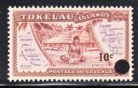 Tokelau MNH Scott #11 10c Surcharge On Tokelau #1 - Tokelau