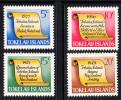Tokelau MNH Scott #16-#19 History Of Tokelau - Scroll - Tokelau