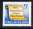 Tokelau MNH Scott #16 History Of Tokelau - 5c Scroll - British Protectorate - Tokelau