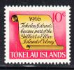Tokelau MNH Scott #17 History Of Tokelau - 10c Scroll - Part Of Gilbert & Ellice - Tokelau