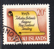 Tokelau Used Scott #19 History Of Tokelau - 20c Scroll - New Zealand Colony - Tokelau