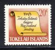 Tokelau MNH Scott #19 History Of Tokelau - 20c Scroll - New Zealand Colony - Tokelau