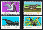 Tokelau MNH Scott #57-#60 Birds: White Tern, Turnstone, White-capped Noddy, Brown Noddy - Tokelau