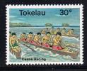 Tokelau MNH Scott #68 30c Canoe Racing - Tokelau