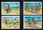 Tokelau Used Scott #69-#72 Rugby, Cricket - Tokelau