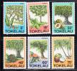 Tokelau MNH Scott #114-#119 Trees, Herbs, Fruits - Tokelau