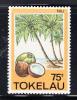 Tokelau MNH Scott #119 Trees, Herbs, Fruits - 75c Niu - Tokelau