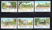 Tokelau MNH Scott #120-#125 Public Buildings And Churches - Tokelau