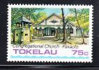 Tokelau MNH Scott #125 75c Fakaofo Congegational Church - Public Buildings And Churches - Tokelau