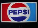 PEPSI COLA - V No 18 - Kunstof Plaat - Plaquette En Plastique - Plaques Publicitaires