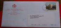 SMOM 2012 LETTERA VIAGGIATA ANNULLO ORIGINALE DELLE POSTE MAGISTRALI - Malte (Ordre De)