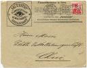 SWITZERLAND 1916 10c Helvetia Securities Bern Front To Chur - Ohne Zuordnung