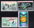 Turks & Caicos Used Scott #246-#249 10th Anniversary 1st Orbital Flight By Glenn - Turks & Caicos