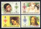 Turks & Caicos MNH Scott #386-#389 International Year Of The Child - Turks & Caicos (I. Turques Et Caïques)