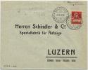 SWITZERLAND 1995 Feldpost No 11 To Schinder Luzern - Ohne Zuordnung