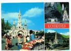 FRANCIA (FRANCE) - 1990 LOURDES : IMMAGINI DIVERSE    -  VIAGGIATA    RIF. 308 - Lourdes