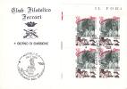 CINEMA CENTENARY, 1995, SPECIAL COVER, OBLITERATION CONCORDANTE, ITALY - Cinema