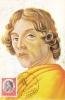S. F. DETTO BOTTICELLI, 1973, CM. MAXI CARD, CARTES MAXIMUM, ITALY - Maximumkarten (MC)