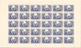 OCB 1063 Postfris Zonder Scharnier Aan 20 % Van De Cataloguswarde PLAAT  2 - Volledige Vellen