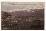CPA/E185/GRENOBLE VUE GENERALE PRISE DE VOUILLANT AU FOND LES ALPES - Grenoble