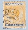 Cyprus 78   (o)  Wmk 4  Script CA - Cyprus (...-1960)