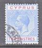 Cyprus 79   (o)  Wmk 4  Script CA - Cyprus (...-1960)
