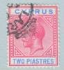 Cyprus 80   (o)  Wmk 4  Script CA - Cyprus (...-1960)