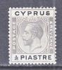 Cyprus 90   *  Wmk 4  Script CA - Cyprus (...-1960)