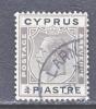 Cyprus 93  (o)  Wmk 4  Script CA - Cyprus (...-1960)