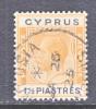 Cyprus 95  (o)  Wmk 4  Script CA - Cyprus (...-1960)