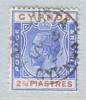 Cyprus 100  (o)  Wmk 4  Script CA - Cyprus (...-1960)