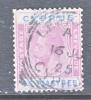 Cyprus 107  (o)  Wmk 4  Script CA - Cyprus (...-1960)