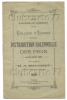 Issoire (63) : Livret De La Distribution Solennelle Des Prix Du Collège En 1920  DOC RARE. - Diplomi E Pagelle