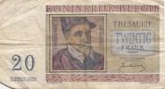 Billet - B442.4 - Belgique (nature Et état Voir 2 Scans RV) - [ 2] 1831-... : Koninkrijk België