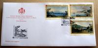 SMOM 2009 -   FDC ANTICHE VEDUTE 5^  EMISSIONE COMPLETE SET   LIMITED EDITION - Sovrano Militare Ordine Di Malta