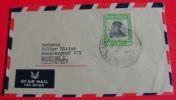 ==PARAGWAY 1963 AIR MAIL BRIEF NACH DE - Paraguay
