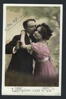 """Très Joli Couple! """" L'affection, C'est La Vie """"   Photo.  VOIR DOS. - Couples"""
