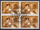 BIT Zu 109 / Mi 108 / YT 461 Bloc De 4 Obl. SBK 5,20 - Dienstzegels