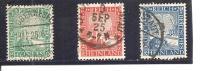 Alemania-Germany Nº Yvert  365-67 (usado) (o) - Usados
