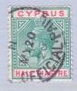 Cyprus 62  (o)   Wmk 3  Multi CA - Cyprus (...-1960)