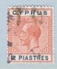 Cyprus 69  (o)   Wmk 3  Multi CA - Cyprus (...-1960)