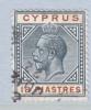 Cyprus 70  (o)   Wmk 3  Multi CA - Cyprus (...-1960)