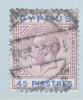 Cyprus 71  (o)   Wmk 3  Multi CA - Cyprus (...-1960)