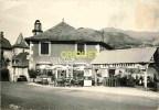 Cpsm 15 St Jacques Des Blats, Hotel Astruc, Terrasse Animée, Belle Pompe Essence Ozo, Pas Courante - Francia