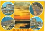 Italy, Miramare, Multi View, 1982 Used Postcard [P9740] - Rimini